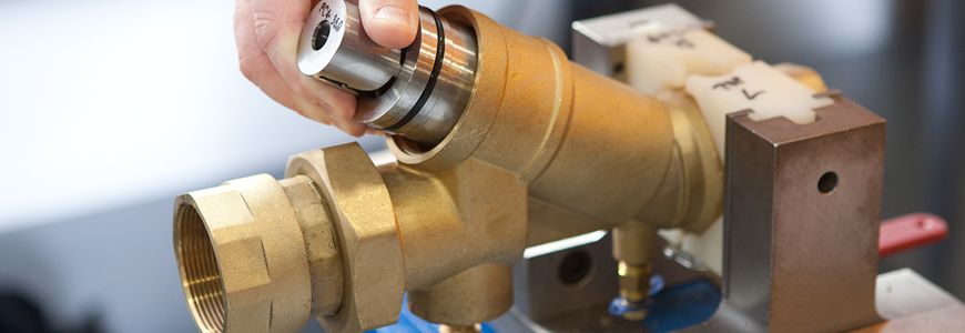 NuTech Hydronic valve fixturing