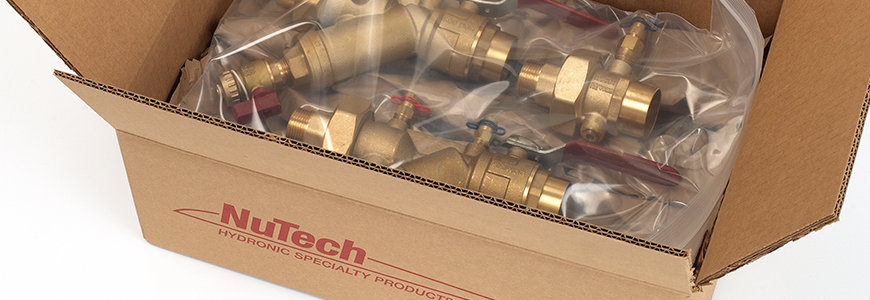 nutech hydronic balancing valves